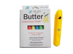 Zero Dust™ Chalk, Jaq Jaq Bird ® ButterStix™ with Chalk Holder (set): Chalk Art: Jaq Jaq Bird ® ButterStix ™Zero Dust™ Chalks, comes in white, multi-color & a set with our holders! #chalktalk, #ChalkArt!