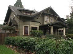 Albina bungalow. This has many stupendous elements. The front door has iron straps. Gorgeous.