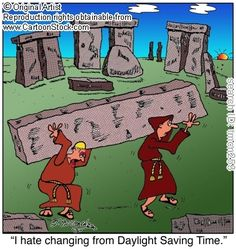 Daylight Saving Time funny cartoons from CartoonStock directory - the world's largest on-line collection of cartoons and comics. Daylight Savings Fall Back, Daylight Saving Time Ends, Church Memes, Bible Humor, Time Cartoon, Comic Poster, Christian Humor, Funny Cartoons, Funny Art