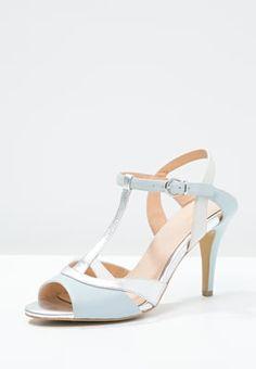 bestil KIOMI Højhælede sandaletter / Højhælede sandaler - light blue/silver til kr 399,00 (24-07-16). Køb hos Zalando og få gratis levering.