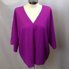 """Selling this """"V Neck Blouse"""" in my Poshmark closet! My username is: adarcus. #shopmycloset #poshmark #fashion #shopping #style #forsale #Ark & Co #Tops"""