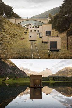 railroad nomadic urbanist settlement  #towns on #rails