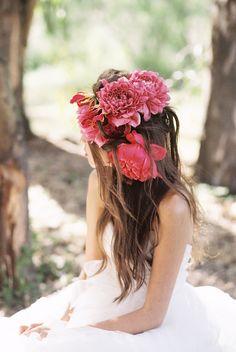 Fuchsia Flower Headpiece | photography by http://www.ladygreystylingsecrets.com/