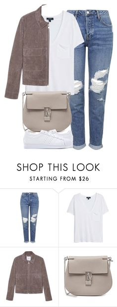 """""""Untitled #4015"""" by london-wanderlust ❤ liked on Polyvore featuring Topshop, MANGO, Chloé, adidas Originals, women's clothing, women, female, woman, misses and juniors"""