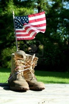 Buy Boots with US flag by njnightsky on PhotoDune. A patriotic symbol of boots and flag American Pride, American Flag, American Standard, American Soldiers, Patriotic Symbols, Military Veterans, Military Families, Military Humor, Military Life