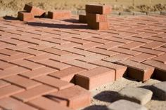 How to build a brick patio, the easy way.
