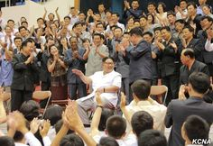 Pyongyang, May 30 (KCNA) -- Kim Jong Un, chairman of the Workers' Party of Korea, first chairman of the National Defence Commission of the DPRK and supreme commander of the Korean People's Army, watched a Workers Party, Korean People, Basketball Games, North Korea, Olympics, Supreme, Army, Chinese, Basketball Plays