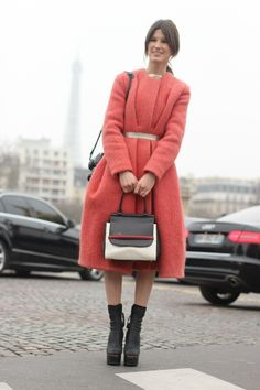 #HannelyMustaparta #CalvinKlein #CalvinKleinCollection #dress #coat #Acne #boots #TheRow #bag #model #beauty #fashion #mode #moda #women #paris #look #streetstyle #streetview #street #style #offcatwalk on #sophiemhabille