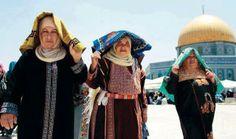 Tunisian women in Quds <3