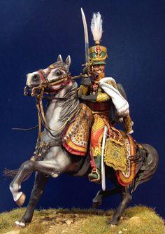 Colonel De Colbert, 7eme Hussards. By Ivo Preda: