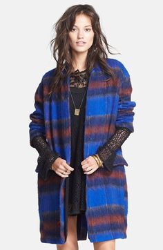 Free People 'Long & Lean' Overcoat available at #Nordstrom