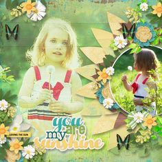 Sunny Day #2 Template by Heartstrings Scrap Art - Digishoptalk - The Hub of the Digital Scrapbooking Community