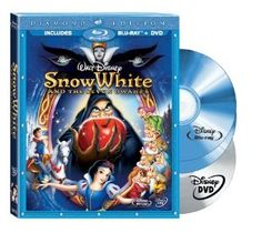 Snow White and the Seven Dwarfs (Three-Disc Diamond Edition Blu-ray/DVD Combo + BD Live w/ Blu-ray packaging) by Walt Disney Studios Home Entertainment ⋆ PlayTheMove Best Kid Movies, Disney Movies, Good Movies, Awesome Movies, Family Movies, Popular Movies, Watch Movies, Disney Characters, Daisy Duck