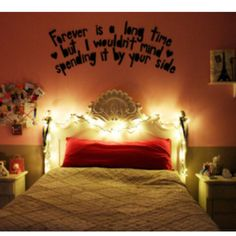 1000 Images About Headboard Quotes On Pinterest Wall