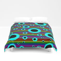 Hole in the water | Greek  Quotes Duvet Cover