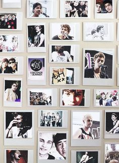 i love this it would be on my ceiling so that when I wake up/sleep I can see their pretty faces xx mo