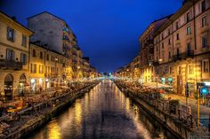 The navigli was a system of navigable and interconnected canals around Milan, in Lombardy, Northern Italy.