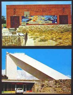 Kitt Peak National Observatory Post Cards Lot of 5 standard 3.5 x 5.5 inch and one 3.5 x 11 inch post cards from 1969 (Petley Studios). average Ex/M condition and include shots of the main museum and various telescopes. Comes with Arizona Highways November 1973 Space Issue, NM condition, Packed with color Robert McCall space artwork, All for $20