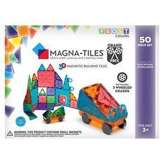 Magna-Tiles 3D Magnetic Building Tiles - 50 Piece~ * Done*
