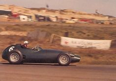1959 Dutch Grand Prix, Circuit Zandvoort : Harry Schell, BRM P25 #6, Owen Racing Organization, Retired (gearbox, lap 46). (ph: Motorsport.com)