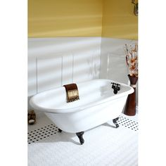 Fashionplumbing - PRINCETON BRASS PVCT3D543019NT-DS-PKG OIL RUBBED BRONZE SERIES 54 X 30 INCH SINGLE ENDED CAST IRON CLAWFOOT TUB VALUE PACKS, $1,099.00 [5% DISCOUNT W/ FREE SHIPPING INCLUDED]  (http://www.fashionplumbing.com/princeton-brass-pvct3d543019nt-ds-pkg-series-54-x-30-inch-single-ended-cast-iron-clawfoot-tub-value-packs/)