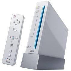 Nintendo Wii - my third nintendo console, also one of the first versions that are backwards compatable with gamecube