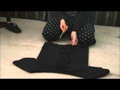 DIY: T-Shirt into a Gothy Fashion Top - YouTube