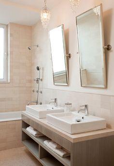 aufgesetzter waschtisch die holz dekorplatte bietet abstellfl che sonstiges pinterest. Black Bedroom Furniture Sets. Home Design Ideas