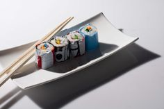 """Plastic sushi by Agnes Swart, via 500px Part of a project """"A Plastic Statement"""""""