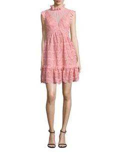 THREE FLOOR Shore Thing Cutout Lace Dress. #threefloor #cloth #dress