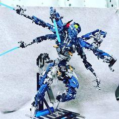 "165 Likes, 17 Comments - VAIO (@vaiohalcas) on Instagram: ""The six : Indigo Asterisk #bioniclemoc  #bionicle  #lego  #legostagram"""