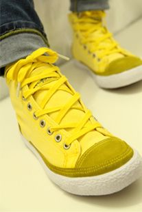 b673a39d9443  17.87 high-top yellow shoes sneakers-ZZKKO Love To Shop