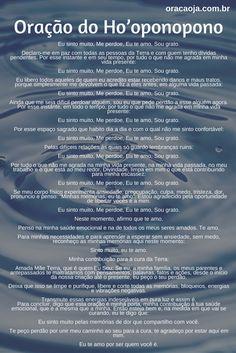 Oração do Ho'oponopono #hoponopono #oração