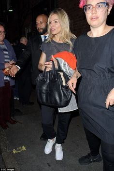 Here she comes:The glamorous departures that have so far defined her hugely successful We...