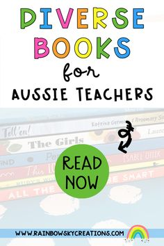 As teachers (and/or parents), our responsibility lies in exposing the children in our care to inclusive resources to help them grow. Celebrating diversity means reading books that have characters from different families, genders, ethnicity, religions, abilities, languages, sexual orientations, and a mixture of skin colours. We have collated a list of some excellent diverse books, check them out here... School Resources, Teaching Resources, Teaching Ideas, Reading Books, Books To Read, Rainbow Sky, Australian Curriculum, Self Confidence, Primary School