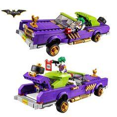 2017 Lepin Batman Movie The Joker Notorious Lowrider Harley Quinn Building Block Toys Compatible Legoe Batman 70906
