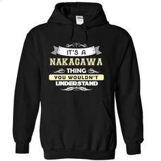 NAKAGAWA-the-awesome - #white tee #poncho sweater. MORE INFO => https://www.sunfrog.com/LifeStyle/NAKAGAWA-the-awesome-Black-Hoodie.html?68278
