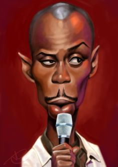Dave Chapelle by Satsu