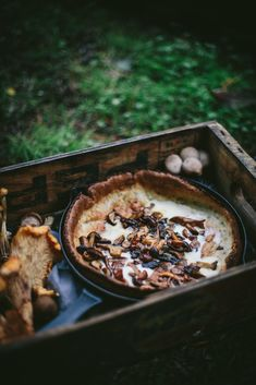 Online Photography Workshop + Savory Mushroom Dutch Baby by Eva Kosmas Flores Savory Breakfast, Breakfast Bake, Baby Breakfast, Brunch, Yummy Appetizers, Baby Food Recipes, Food Photography, Stuffed Mushrooms, Yummy Food