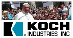 "Largest Online Christian Organization Targets & Exposes Koch Brothers Corruption Pope Francis is making headlines, warning that ""we can no longer trust in the unseen forces and the invisible hand of the market. Growth in justice requires more than economic growth."" Meanwhile, America's flagship Catholic university is planning to take a million dollars from the Koch brothers to spread their right-wing, anti-poor agenda. Sign the petition: ""Don't take the Koch Brothers' money"" at the link."