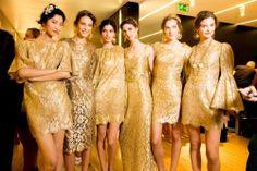 """elegancia-es-el-nuevo-estilo29: """" Dolce & Gabbana - Gold """""""