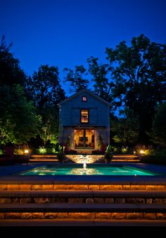 Pool Barn « Hess Landscape Architects