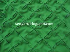 Senyart: Passo a passo da almofada capitonê laçinhos ou bolinhas