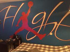 Mooi voor op de tiener slaapkamer  Met de hand geschilderd