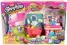 Amazon.com: Shopkins Supermarket Playset: Toys & Games