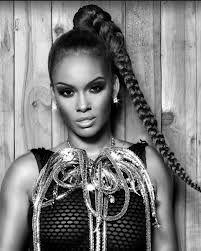 Evelyn lozada.. big braid bangs