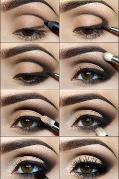Smokey eye using a Kohl pencil