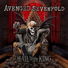 Avenged Sevenfold Hail To The King on Limited Edition 2LP + Digital Download Produced by Mike Elizondo, Hail To The King is the sixth studio album from Huntington Beach, CA's Avenged Sevenfold, an alb