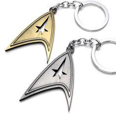 Star Trek Enterprise NCC-1701 keychain 2016 New Star Trek Star wars spacecraft action figures toys gift party supply decoration