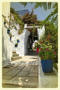 Arnados Village Tinos Greece